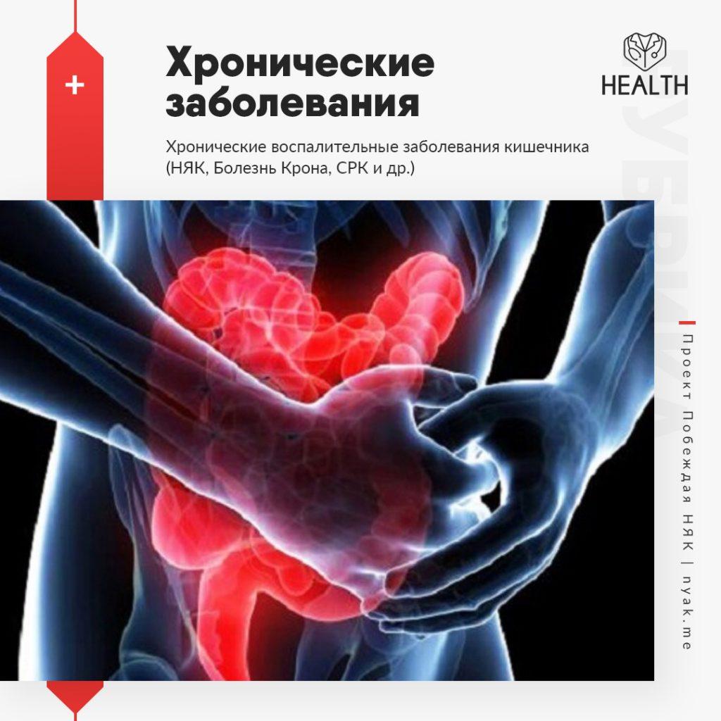 Хронические воспалительные заболевания
