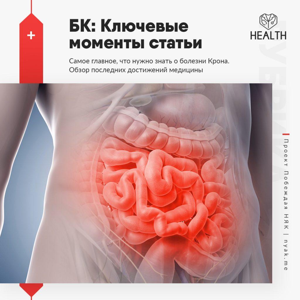 Болезнь крона. Причины. Симптомы. Лечение заболевания кишечника Крона. Клинические рекомендации