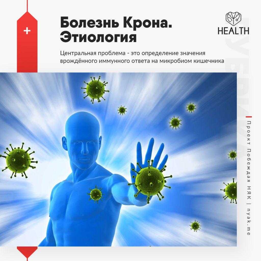 Этиология болезни Крона