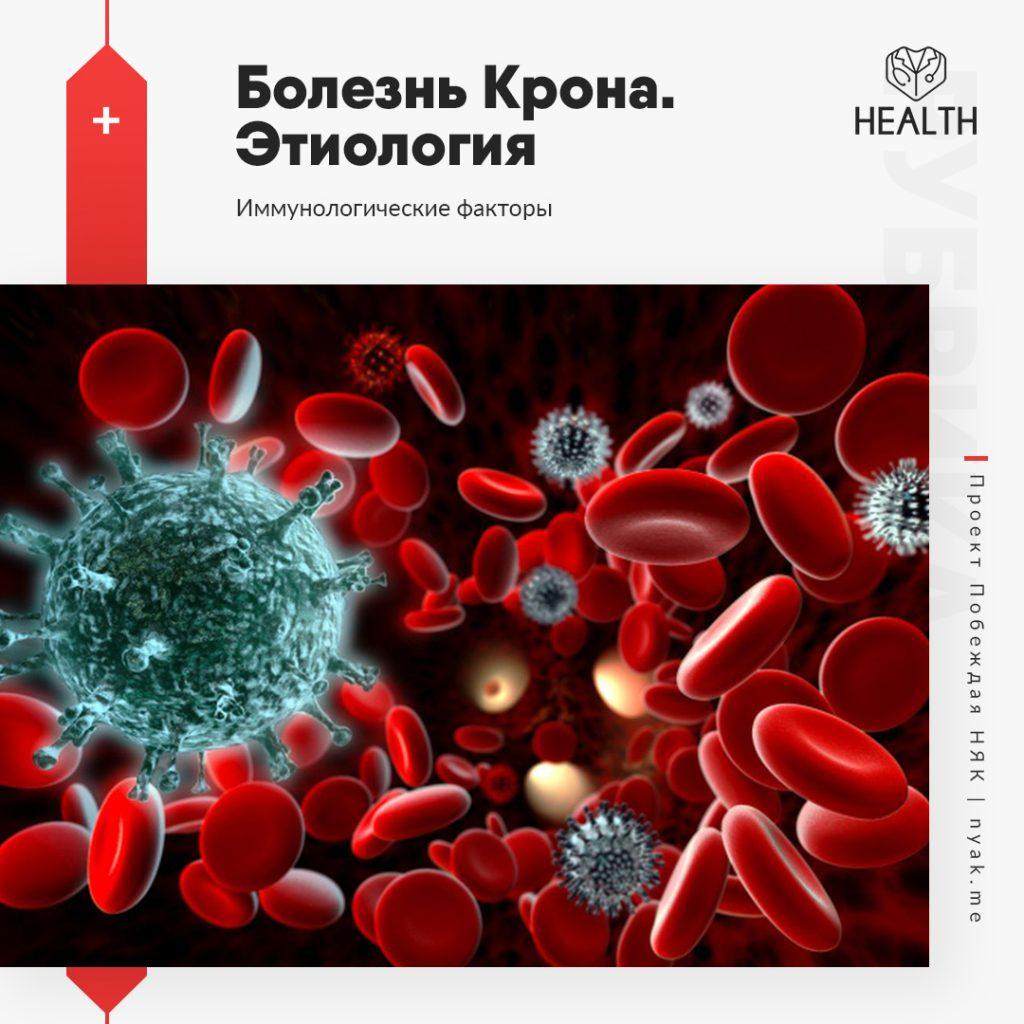 Этиология болезни Крона. Иммунологические факторы
