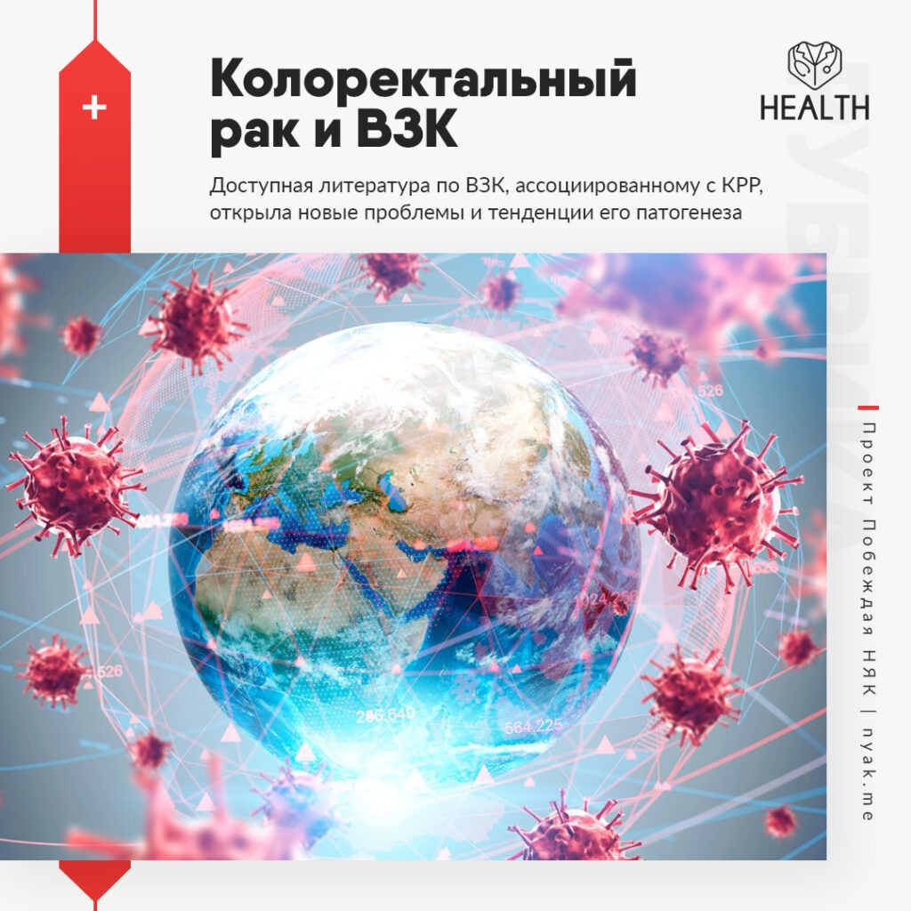 Доступная литература по ВЗК, ассоциированному с КРР, открыла новые проблемы и тенденции его патогенеза