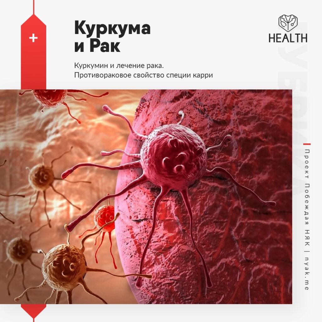 Куркума и рак. Куркумин и лечение рака. Противораковое свойство специи карри