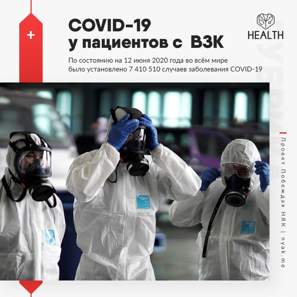 По состоянию на 12 июня 2020 года во всём мире было установлено 7 410 510 случаев заболевания COVID-19