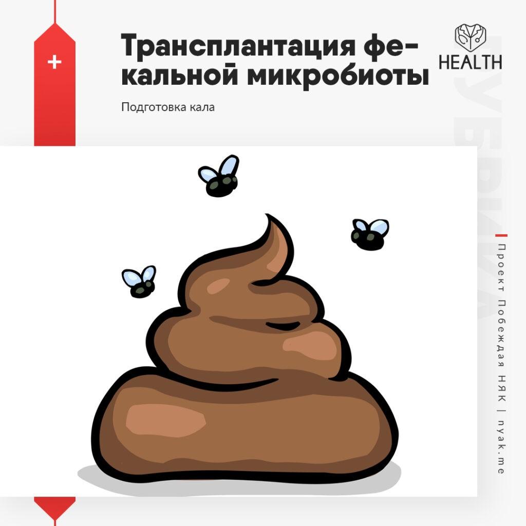 Подготовка кала для трансплантации фекальной микробиоты